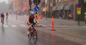 Dag två på Stockholm Triathlon